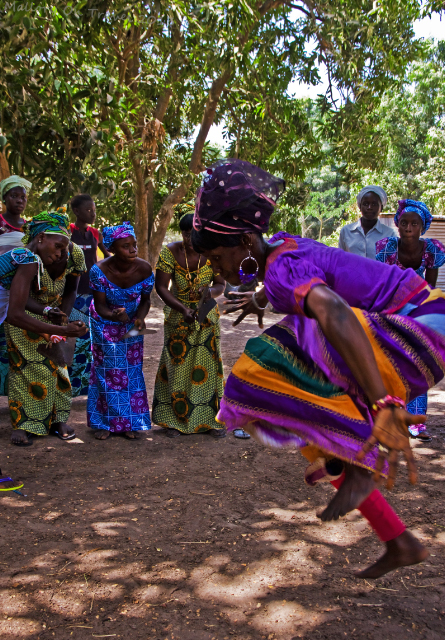 Women dancers of the Jola village of Kanuma at a kumpo in The Gambia, west Africa on Mallory on Travel, adventure, adventure travel, photography Iain Mallory-1639