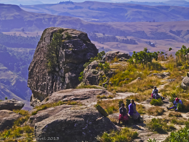 Zulu women in the Drakensberg in the KwaZulu-Natal region of South Africa near Durban  on Mallory on Travel, adventure, adventure travel, photography Iain Mallory-300-96 zulu_women