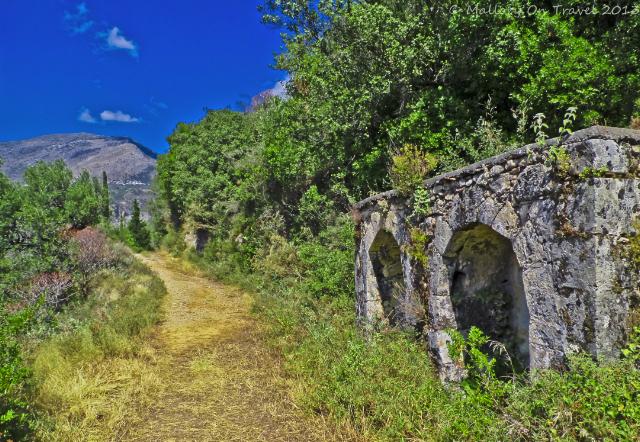 the Viros Gorge near Kardamili in the Peloponnese, Greece on Mallory on Travel adventure, adventure travel, photography Iain Mallory-300-15