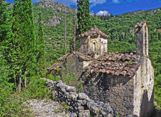 Moni Lykaki in the Viros Gorge near Kardamili in the Peloponnese, Greece on Mallory on Travel adventure, adventure travel, photography Iain Mallory-300-16