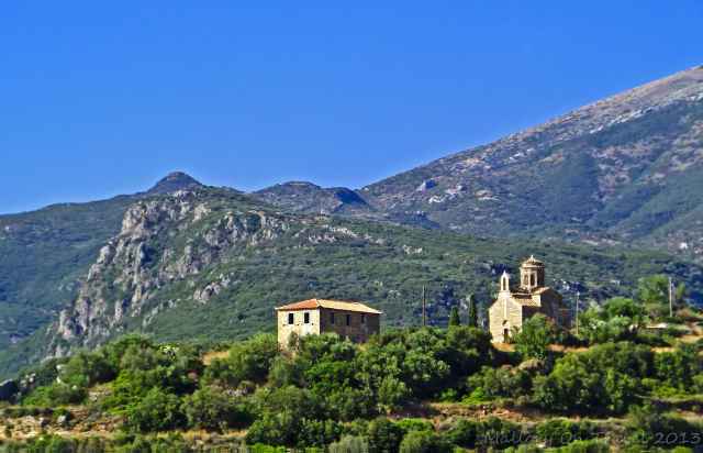The view of Agia Sofia in the Peloponnese, Greece on Mallory on Travel adventure, adventure travel, photography Iain Mallory-300-25