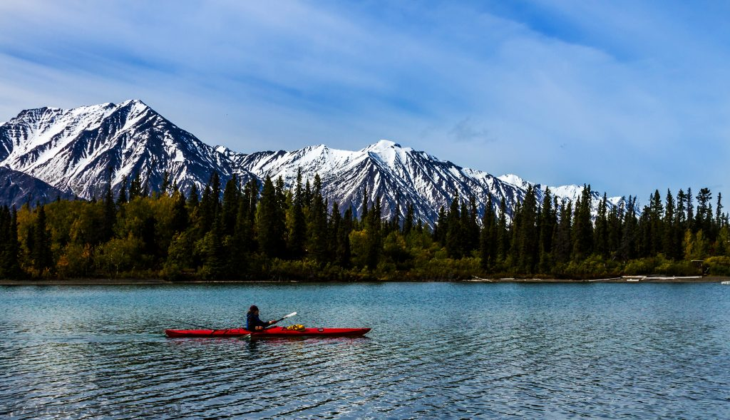 Freedom in the wilderness, kayaking in Kluane National Park in The Yukon, Canada on Mallory on Travel adventure travel, photography, travel Iain_Mallory_Yukon1412634