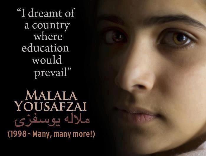 Malala Yousafzai the Pakistani girl that is the inspiration for Malala Day adventure, adventure travel, photography on Mallory on Travel malala_yousufzai_aphoto