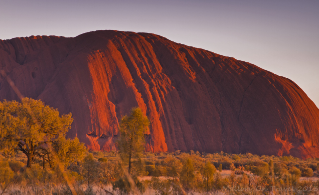 Beautiful Uluru formerly Ayers Rock at sunrise in the Northern Territory, Australia on Mallory on Travel adventure, adventure travel, photography Iain Mallory-300-56_uluru_sunrise