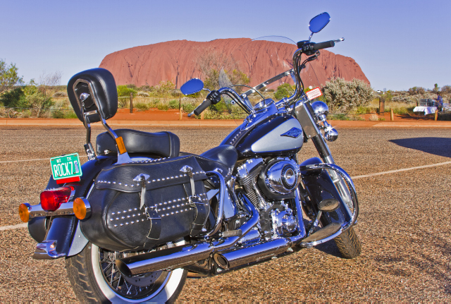 A Harley-Davidson motorcycle tour around Uluru in the Northern Territory, Australia on Mallory on Travel adventure, adventure travel, photography Iain Mallory-300-60_uluru