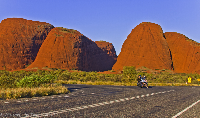 A Harley-Davidson motorcycle tour around Uluru and Kata Tjuta in the Northern Territory, Australia on Mallory on Travel adventure, adventure travel, photography Iain Mallory-300-61_kata_tjuta