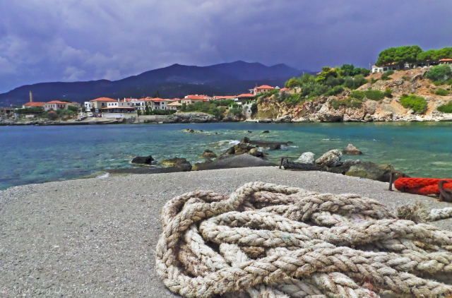Kardamili from St John's Harbour on the Peloponnese Peninisula, Greece on Mallory on Travel adventure, adventure travel, photography Iain Mallory-300-79_kardamili