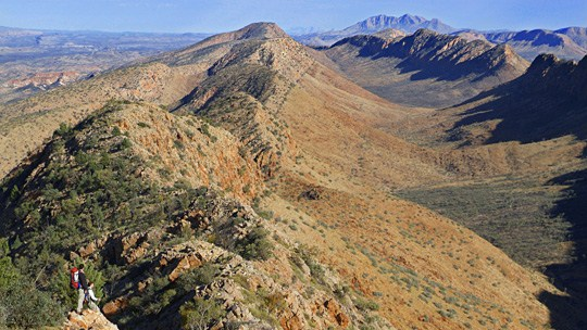 Stunning views over the West MacDonnell Range on the Larapinta Trail in the Northern Territory, Australia on Mallory on Travel adventure, adventure travel, photography tnt_landscape__9029373_nttc_larapinta_9670852.ashx