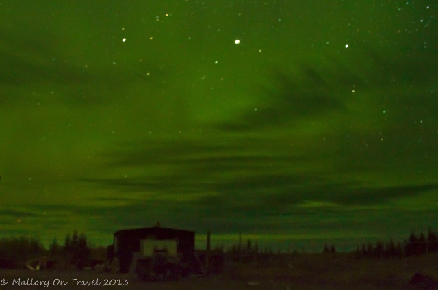 The Northern Lights or Aurora Borealis on Hudson Bay, Manitoba in Canada on Mallory on Travel adventure, adventure travel, photography Iain Mallory-300-39_northern_lights