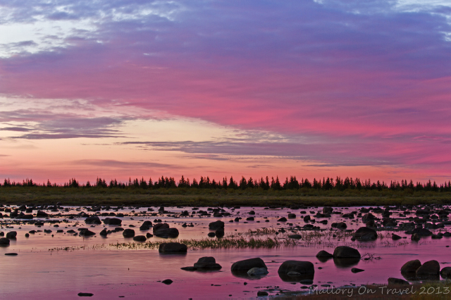 Sunrise on Hudson Bay, Manitoba, Canada on Mallory on Travel adventure, adventure travel, photography Iain Mallory-300-82_manitoba_sunrise