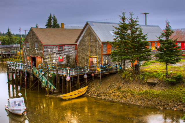 Seal Cove smokehouses on Grand Manan in the Bay of Fundy, New Brunswick, Canada on Mallory on Travel adventure, adventure travel, photography Iain Mallory-300-86_smokehouses_sealcove