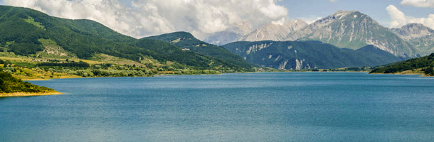 Lago di Campotosto, in the Molise region of Italy on Mallory on Travel adventure, adventure travel, photography