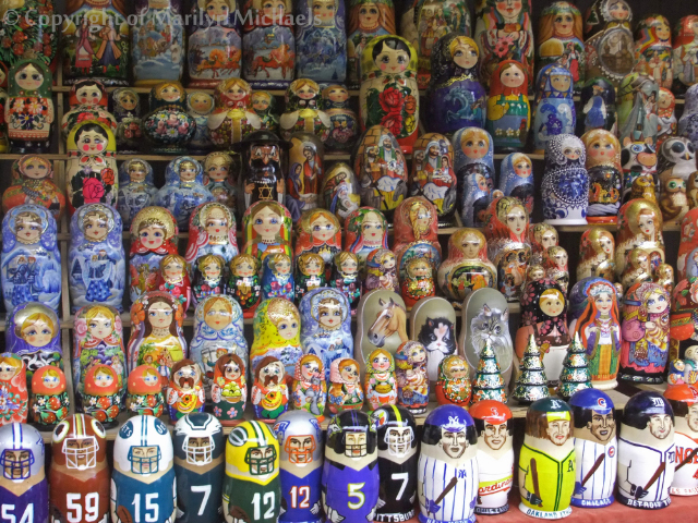Colourful Ukrainian dolls, traditional crafts at the Days of Ukraine Festival, London on Mallory on Travel adventure, adventure travel, photography