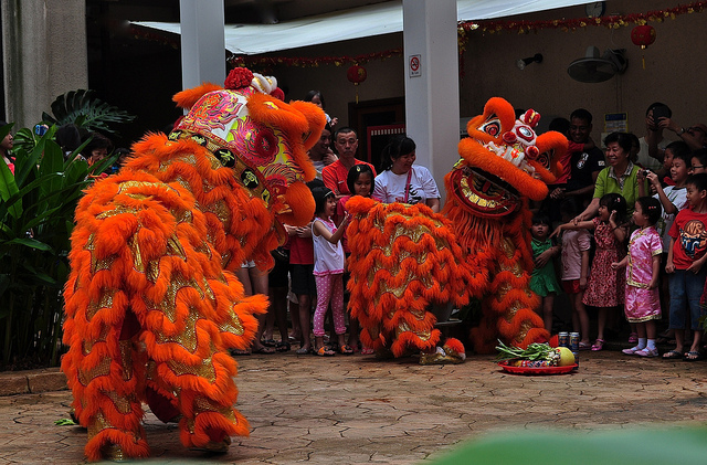 Dragon dance in sovereign Singapore, South East Asia Home of Adventure, travel, photography - Mallory On Travel 8497450446_f86552e26f_z