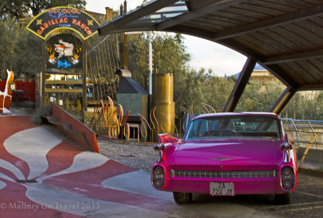 The Cadillac Ranch theme park diner in the village of Pesche, Molise in Italy on Mallory on Travel adventure, adventure travel, photography Iain Mallory-300-192_cadillac_ranch