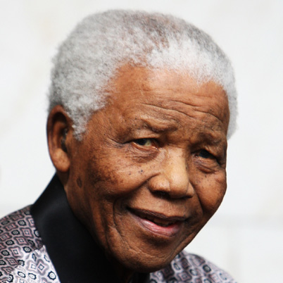 Nelson Mandela, political activist and president of South Africa on Mallory on Travel adventure, adventure travel, photography