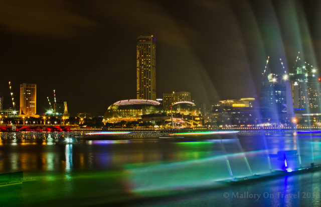 Fountains on the Esplanade of Singapore on Mallory on Travel adventure, adventure travel, photography Iain Mallory-300-18_esplanade_singapore