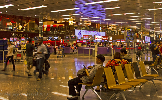Departures at Changi Airport, in the sovereign city of Singapore, Asia on Mallory on Travel adventure, adventure travel, photography Iain Mallory-300-351 changi_airport