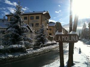 La Molina in the Alp 2500 resort, Costa Brava, in the Calatan Pyrenees
