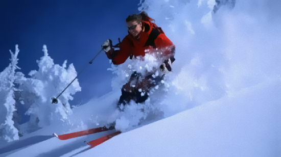Deep powder, off piste skiing in la Molina in the Alp 2500 Resort in the Spanish Pyrenees, Catalonia on Mallory on Travel adventure, adventure travel, photography