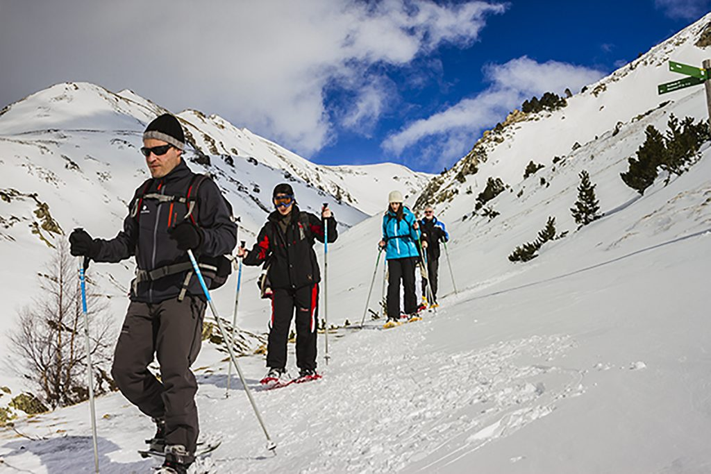 Snowshoeing at Vall de Núria in Costa Brava in the Catalan Pyrenees, Spain on Mallory on Travel adventure, adventure travel, photography Iain Mallory-300-73 snowshoeing_spain