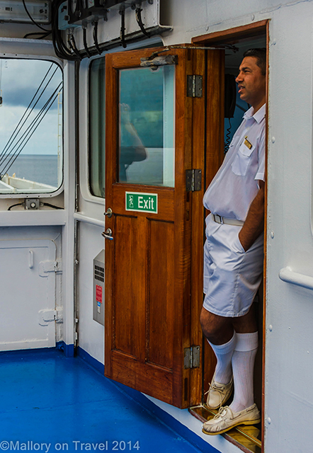 Andrew Greentree, Captain of the RMS St Helena  on Mallory on Travel adventure, adventure travel, photography Iain Mallory-300-19 ships_captain