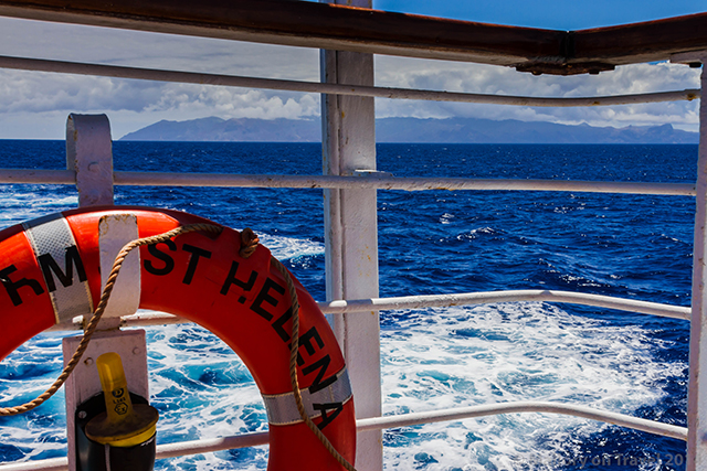 Departing St Helena, in the South Atlantic on the RMS St Helena  on Mallory on Travel adventure, adventure travel, photography Iain Mallory-300-21 rms_sthelena