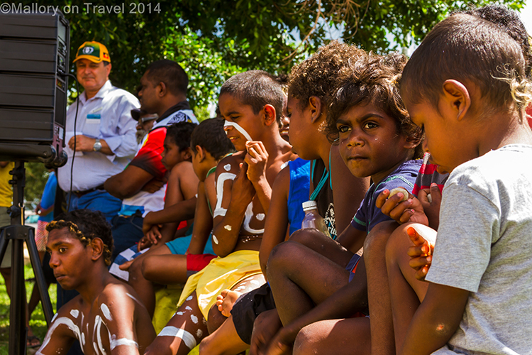 Bwgolman children at the Palm Island Open Day, Queensland, Australia on Mallory on Travel adventure, adventure travel, photIain Mallory-300-6 aboriginal_childrenography