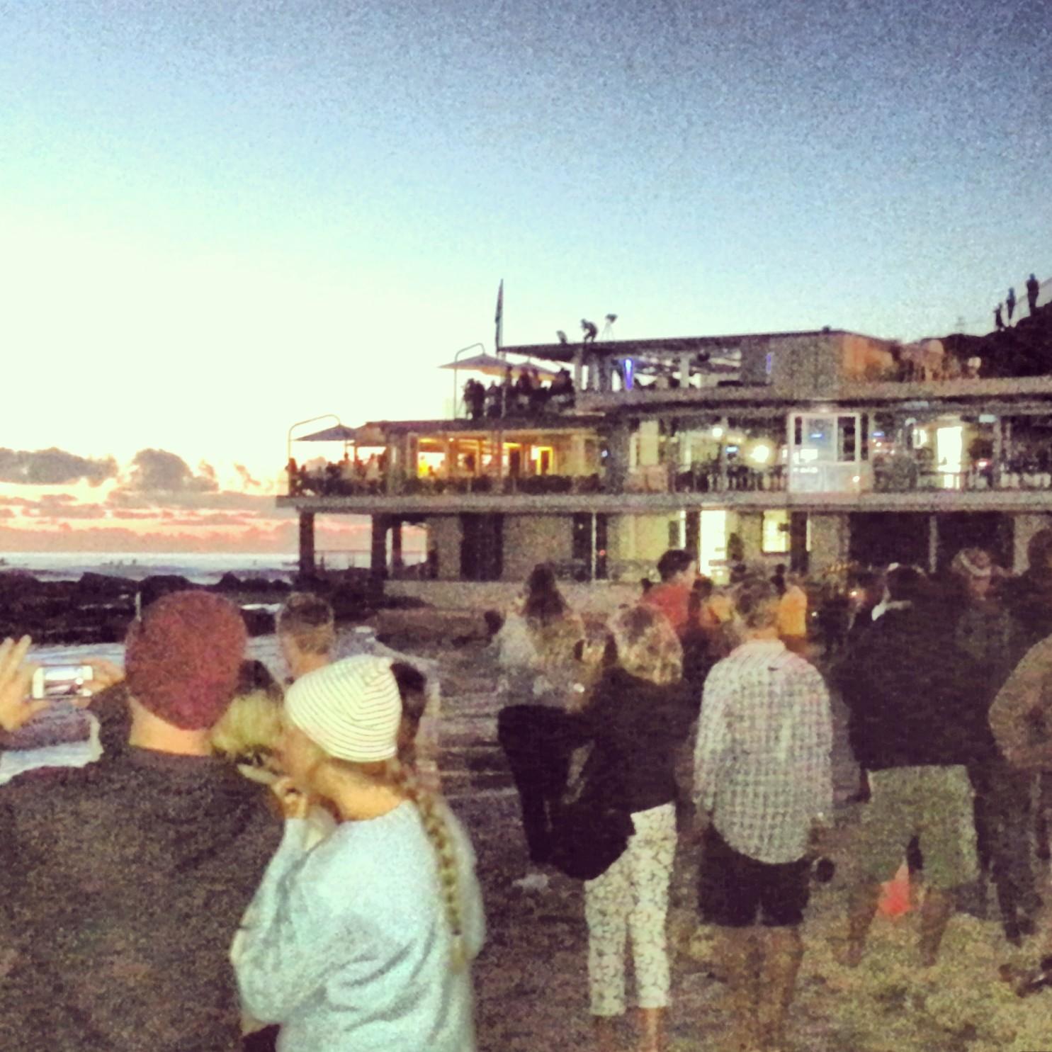 Anzac Day dawn service on Currumbin Beach, the Gold Coast, Queensland, Australia on Mallory on Travel adventure, adventure travel, photography malloryontravel_anzac_sunrise