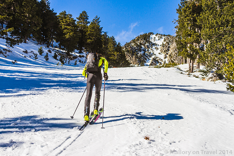 Ski touring in the Catalan Pyrenees at Vallter2000 resort in the Camprodon Valley Mallory on Travel adventure, adventure travel, photography Iain Mallory-300-39 ski_touring