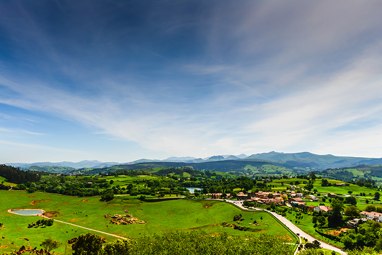 View from the highest point of the Cabarceno Safari Park, Cantabria, Northern Spain  on Mallory on Travel adventure, adventure travel, photography Iain Mallory-300-5 green_spain