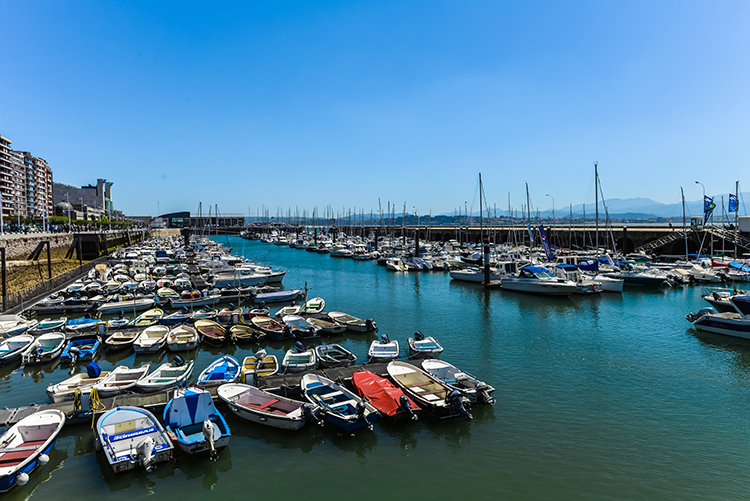 Santander marina in the northern principality of Cantabria, Spain on Mallory on Travel adventure, adventure travel, photography Iain Mallory-300-6 santander