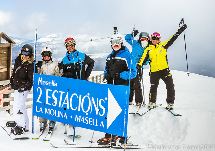 Spanish skiing in the Catalan Pyrenees at Alp2500 twin resorts of la Molina and Massellaon Mallory on Travel adventure, adventure travel, photographyIain Mallory-300-77 alp2500