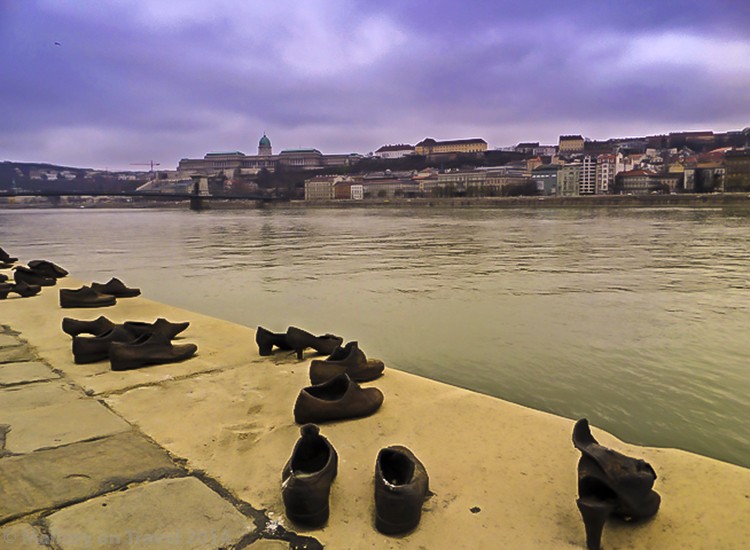 "European river cruising, the ""shoes on the Danube"" art on the promenade in Budapest, Hungary on Mallory on Travel adventure, adventure travel, photography Iain_Mallory_SAM_2443 budapest_art"