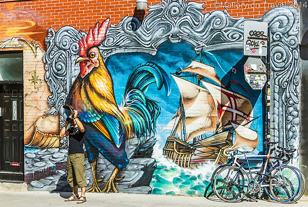 Montreal mural festival of street art, the creative streets of the Quebec province city, Canada on Mallory on Travel adventure, adventure travel, photographyIain Mallory-300-93 montreal_streetart