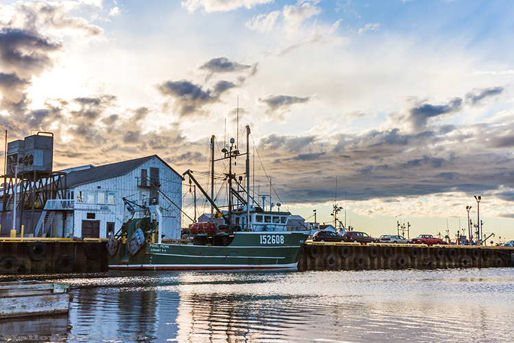 Caraquet harbour on the north Atlantic coast of New Brunswick, Canada on Mallory on Travel adventure, adventure travel, photography Iain Mallory-195 caraquet_harbour