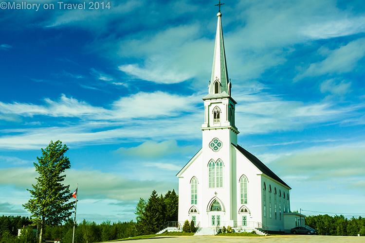 New Brunswick church in Acadieville, Canada on Mallory on Travel adventure, adventure travel, photography Iain Mallory-300-11 new_brunswick