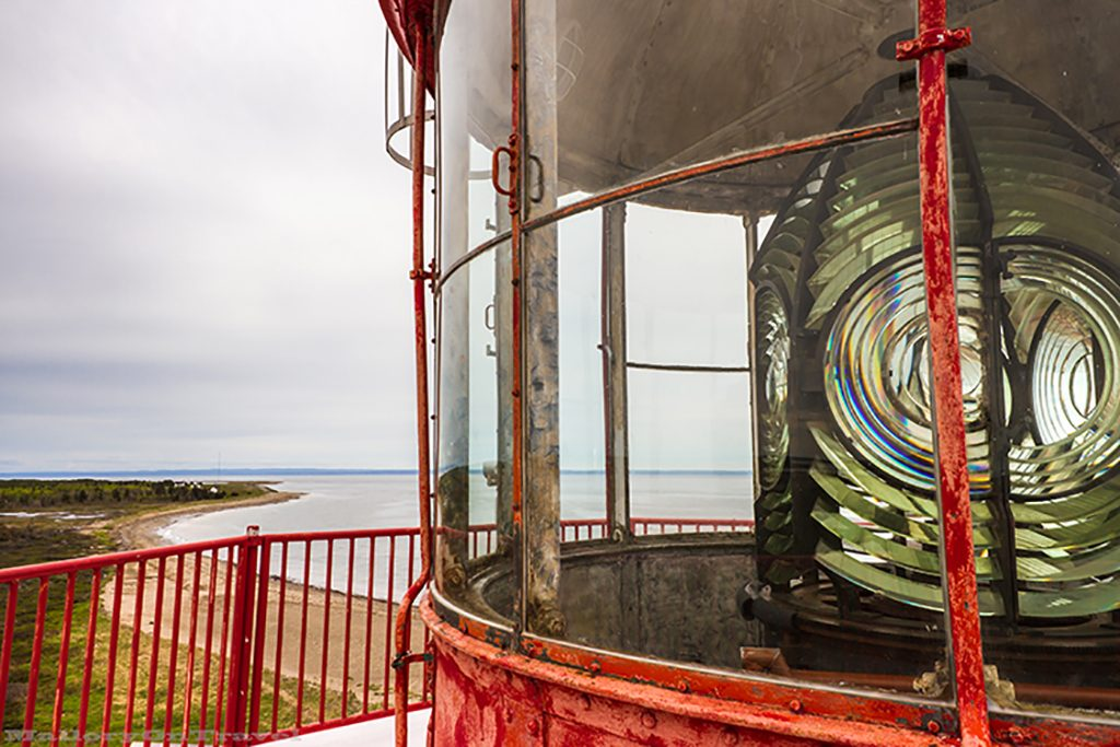 A lighthouse lens in New Brunswick, Canada on Mallory on Travel adventure, adventure travel, photography Iain Mallory-39 lighthouse_lens