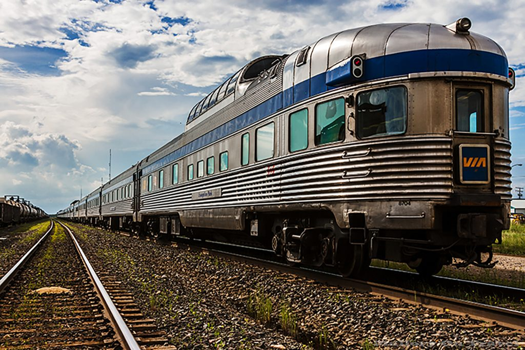 "The Via Rail ""Canadian"" which traverses Canada coast to coast on Mallory on Travel adventure, adventure travel, photography Iain Mallory-11 the_canadian"