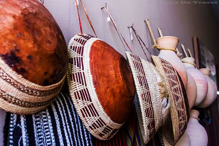 Milk bowls in Nizwa souk, Sultanate of Oman on Mallory on Travel adventure, adventure travel, photography Iain Mallory-141 souk_goods