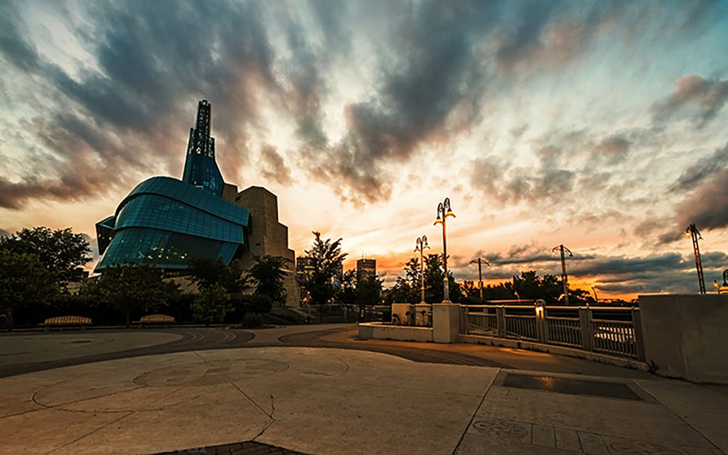 Winnipeg, Manitoba Canadian Museum of Human Rights at sunset on Mallory on Travel adventure, adventure travel, photography Iain Mallory-252-2 winnipeg_manitoba