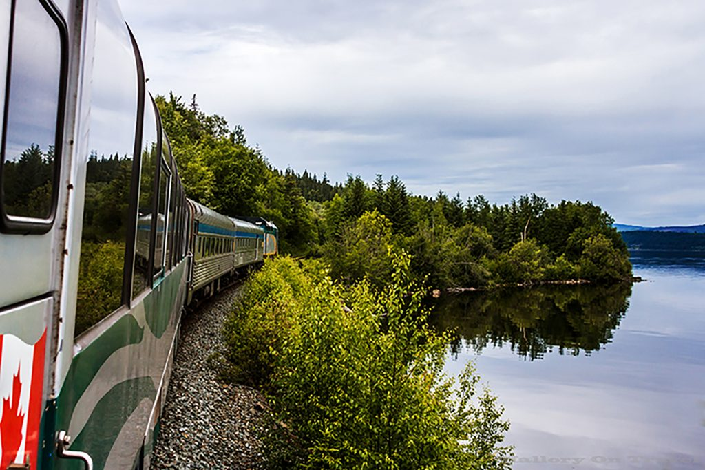 "The Via Rail ""Canadian"" which traverses Canada coast to coast on Mallory on Travel adventure, adventure travel, photography Iain Mallory-26 canadian_trains"