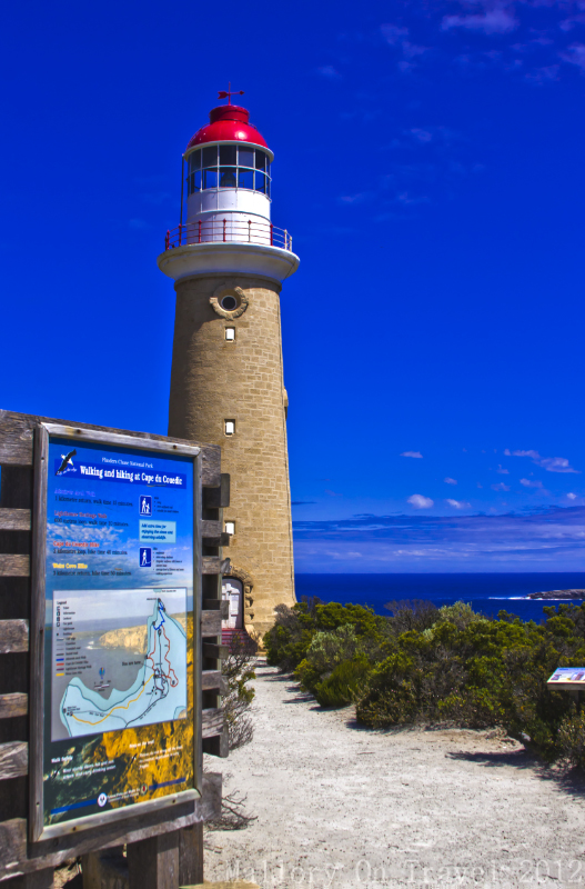 Lighthouse on Kangaroo Island, off Adelaide in South West Australia on Mallory on Travel adventure, adventure travel, photography Iain Mallory-300-38 lighthouse