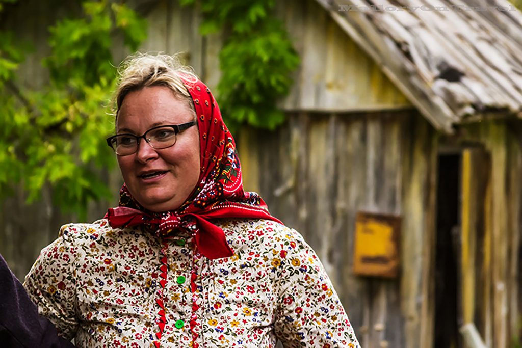 Woman dancing on the island of Kihnu, Estonia in the Baltic States on Mallory on Travel adventure, adventure travel, photography Iain_Mallory_1402859