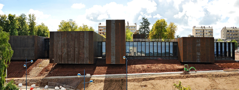 Soulages Museum in Rodez in the Aveyron region of France on Mallory on Travel adventure, adventure travel, photography
