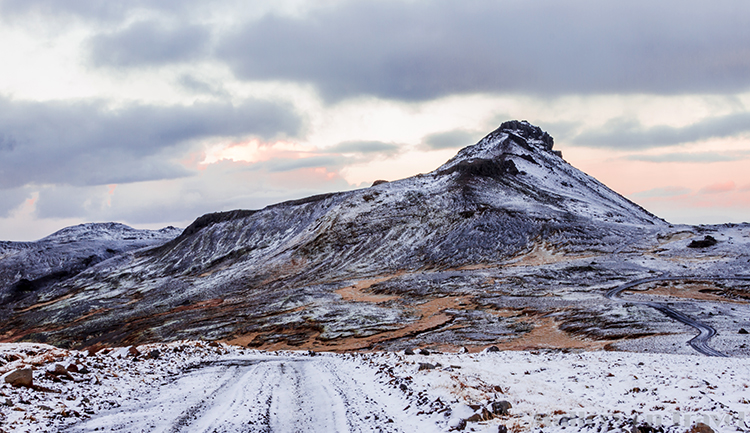 Snæfellsjökull on the Snaesfellsnes Peninsula, and National Park in Iceland, the Land of Fire, and Ice on Mallory on Travel adventure, adventure travel, photography Iain Mallory-300-20 snæfellsjökull