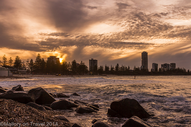 Surfer's Paradise looking over towards Broadbeach in Queensland, Australia on Mallory on Travel adventure, adventure travel, photography Iain Mallory-300-27 surfers_queensland