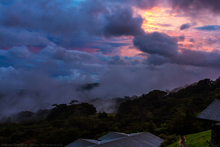 A developing storm in the cloudforest of Monteverde in Costa Rica on Mallory on Travel adventure, adventure travel, photography Iain_Mallory_9040 monteverde_cloudforest