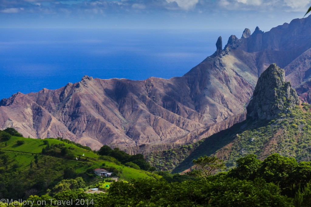 Destinations; Lot Wifes rocks on St Helena in the South Atlantic on Mallory on Travel adventure, adventure travel, photography Iain Mallory-300-24