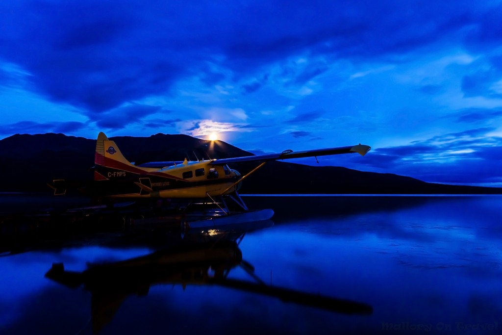 The Beaver float plane of the Inconnu Lodge in the North Western Territories of The Yukon, Canada on Mallory on Travel adventure travel, photography, travel Iain Mallory-Yukon_2088